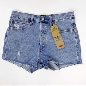 Levi's 29 8 501 Distressed Denim Shorts